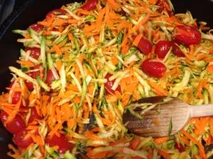 Veggies for Pasta Estiva