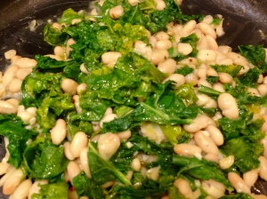 Kale and Beans