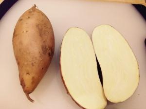 Yellow Sweet Potatoes