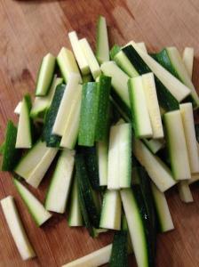Zucchini Matchsticks